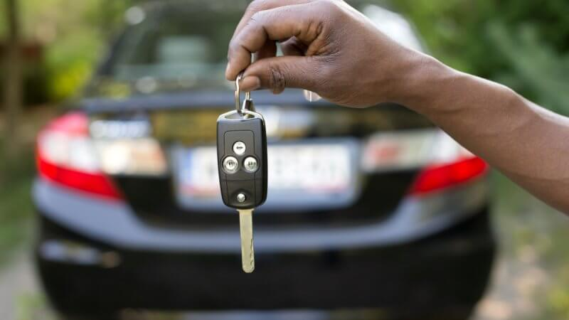 מפתח לרכב חדש
